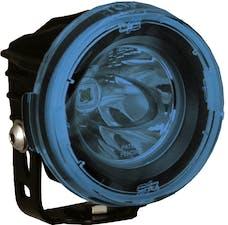 Vision X 9889559 Optimus Round Series PCV Blue Cover Clear