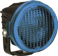Vision X 9889573 Optimus Round Series PCV Blue Cover Flood Beam