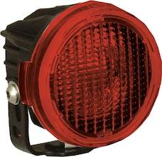 Vision X 9889733 Optimus Round Series PCV Red Cover Flood Beam