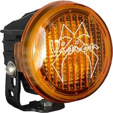 Vision X 9890968 Optimus Round Series PCV Yellow Cover Wide Flood Beam