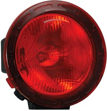 """Vision X 9896687 8.7"""" Cannon PCV Cover Red Combo Beam"""
