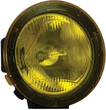 """Vision X 9896694 8.7"""" Cannon PCV Cover Yellow Combo Beam"""