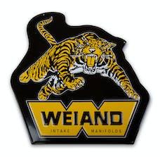 Weiand 10009WND Weiand Tiger Metal Sign