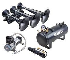 Wolo Manufacturing Corp. 855-858 Wolo Express Protruck Train Horn & High Pressure Air System