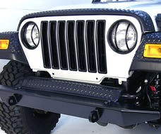 Outland Automotive 391130603 Grille Inserts, Black; 97-06 Jeep Wrangler TJ