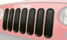 Outland Automotive 391140130 Billet Grille Insert, Black; 07-16 Jeep Wrangler JK