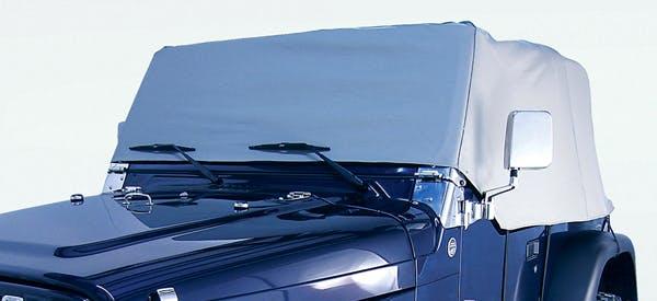 Outland Automotive 391331009 Cab Cover, Gray; 87-91 Jeep Wrangler YJ