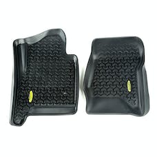 Outland Automotive 398290104 Floor Liners, Front, Black; 15-16 GM SUV and 1500-3500 Pickup