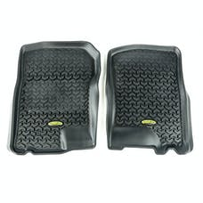 Outland Automotive 398290205 Floor Liners, Front, Black; 97-03 Expedition/F-150/Navigator