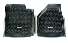 Outland Automotive 398290206 Floor Liners, Front, Black; 08-10 Ford F-250/F-350