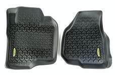 Outland Automotive 398290208 Floor Liners, Front, Black; 11-12 Ford F-250/F-350