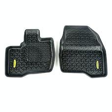 Outland Automotive 398290209 Floor Liners, Front, Black; 11-14 Ford Explorer