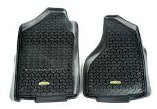 Outland Automotive 398290305 Floor Liners, Front, Black; 02-16 Dodge Ram 1500-3500