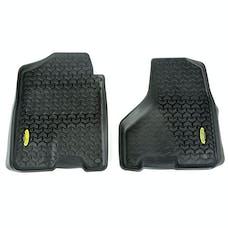 Outland Automotive 398290308 Floor Liners, Front, Black; 09-16 Dodge Ram 1500-3500