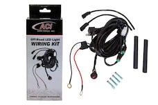 ACI LED LIghts 90451 ACI LED Off-Road Wiring Harness and Switch