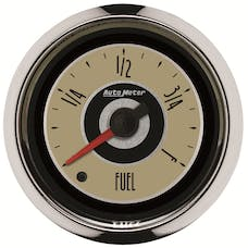 """AutoMeter Products 1109 2-1/16"""" Fuel Level, Fuse Universal Stepper, Cruiser"""