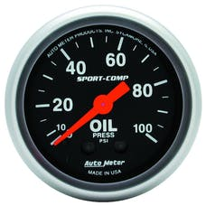 AutoMeter Products 3321 Oil Press  0-100 PSI
