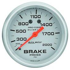 AutoMeter Products 4626 Brake Press  0-2000 PSI LFG