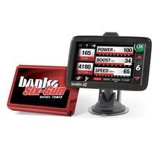 Banks Power 63809 Six-Gun Dsl Tuner; w/Banks iQ-2003-05 Dodge 5.9L