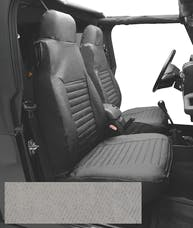 Bestop 29224-09 Seat Cover Set, Front High-back Seat