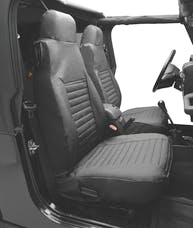 Bestop 29224-15 Seat Cover Set, Front High-back Seat