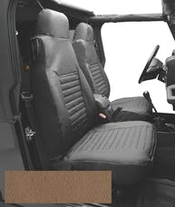 Bestop 29224-37 Seat Cover Set, Front High-back Seat