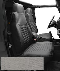 Bestop 29226-09 Seat Cover Set, Front High-back Seat