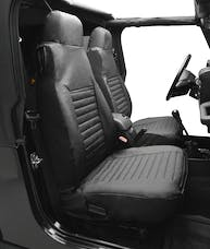 Bestop 29226-15 Seat Cover Set, Front High-back Seat