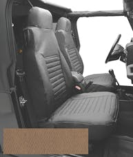 Bestop 29226-37 Seat Cover Set, Front High-back Seat