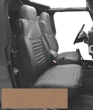 Bestop 29227-04 Seat Cover Set, Front High-back Seat