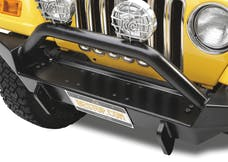 Bestop 42901-01 HighRock 4x4 Front Bumper, Full-width profile