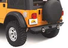 Bestop 42902-01 HighRock 4x4 Rear Bumper with 2'' receiver hitch
