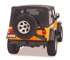 Bestop 42931-01 HighRock 4x4 Rear Bumper with Tire Carrier
