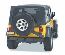 Bestop 42931-01 HighRock 4x4 Rear Bumper with Tire Carrier