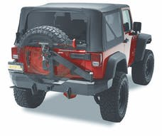 Bestop 42934-01 HighRock 4x4 Rear Bumper with Tire Carrier
