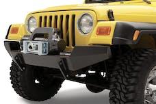 Bestop 44901-01 HighRock 4x4 Front Bumper, Full-width profile