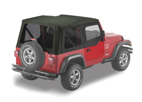 Bestop 51124-15 Replace-a-Top Fabric-only Soft Top