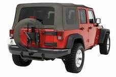 Bestop 61961-01 HighRock 4x4 Oversize Tire Carrier