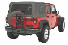 Bestop 61961-01 HighRock 4x4 Oversize Tire Carrier