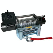 Bulldog Winch 10013 9300lb Alpha Series with 6.0hp Series Wound Motor, roller fairlead