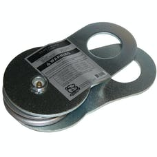 Bulldog Winch 20005 Snatch Block, 17k BS, 7k WLL, zerk
