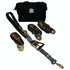 Bulldog Winch 20230 Set of 4 Ratching straps
