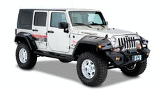 Bushwacker 10044-02 Max Coverage Pocket Style Fender Flares, 2pc