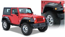 Bushwacker 10045-02 Max Coverage Pocket Style Fender Flares, 2pc