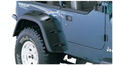 Bushwacker 10058-07 Cut-Out Style Jeep Fender Flares, 2pc