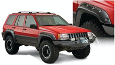 Bushwacker 10916-07 Cut-Out Style Jeep Fender Flares, 4pc