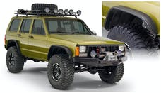 Bushwacker 10922-07 Flat Style Jeep Fender Flares, 4pc