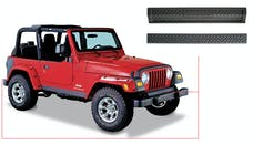 Bushwacker 14003 Jeep Trail Armor Front & Rear Accent - Set - OE Matte Black