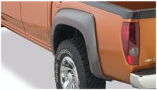 Bushwacker 41028-02 Extend-A-Fender Flare - Rear Pair - OE Matte Black