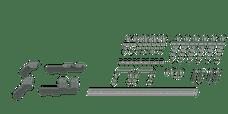 B&W Towing RVR2604 Custom Installation Kit For Universal Mounting Rails For Some RAM Trucks